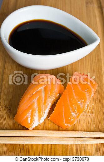 sushi rolls - csp13730670