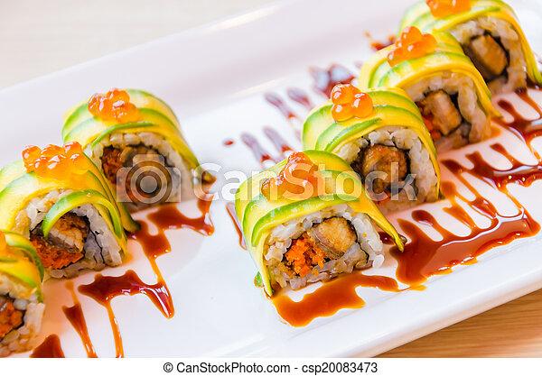 Sushi rolls - csp20083473