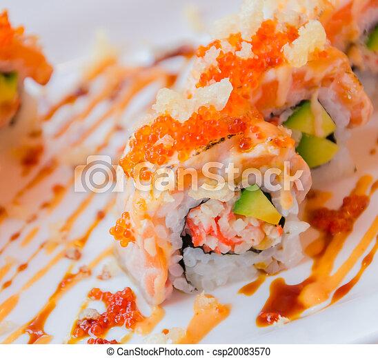 Sushi rolls - csp20083570