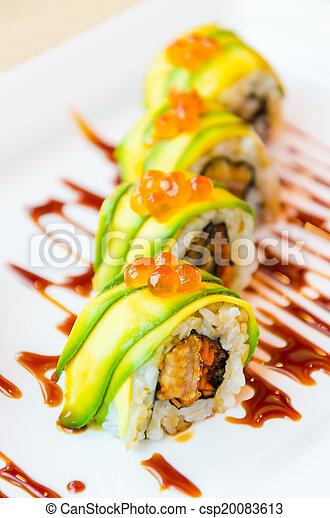 Sushi rolls - csp20083613