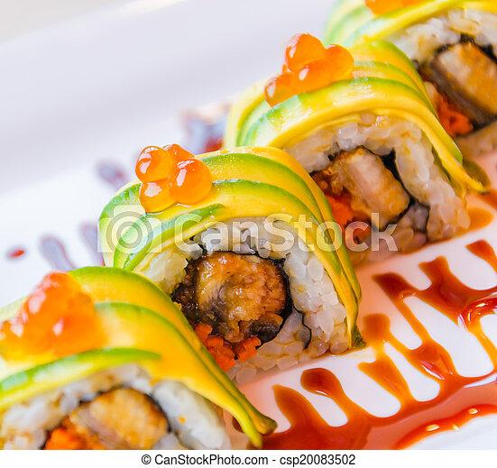 Sushi rolls - csp20083502