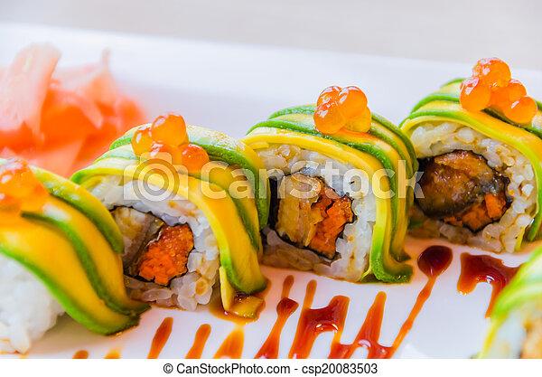 Sushi rolls - csp20083503