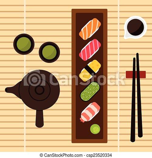 Sushi set - csp23520334
