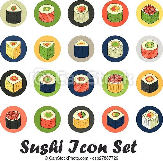 sushi set - csp27887729