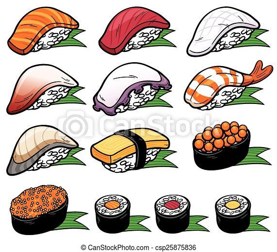 sushi , csp25875836