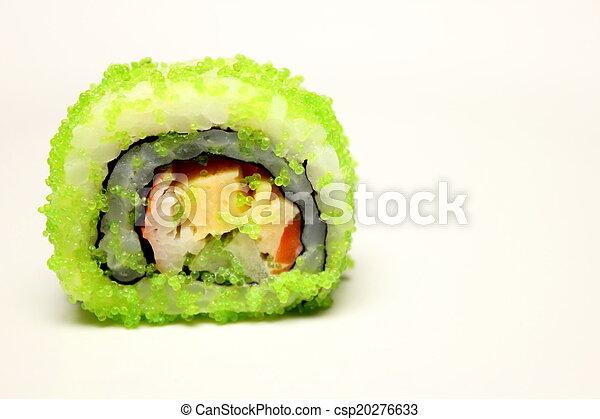 Näheres Detail der Nigiri Sushi und - csp20276633