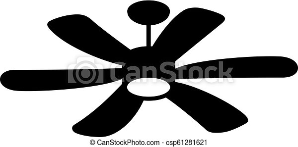 Suspended ceiling fan - csp61281621