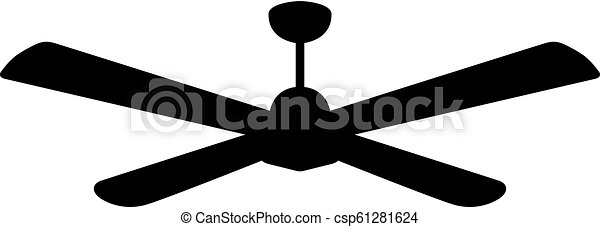 Suspended ceiling fan - csp61281624