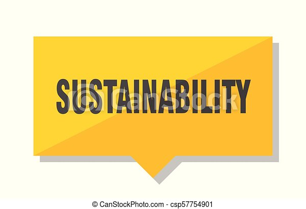 sustainability price tag - csp57754901