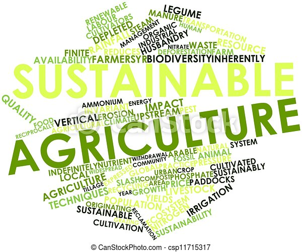 Sustainable agriculture - csp11715317