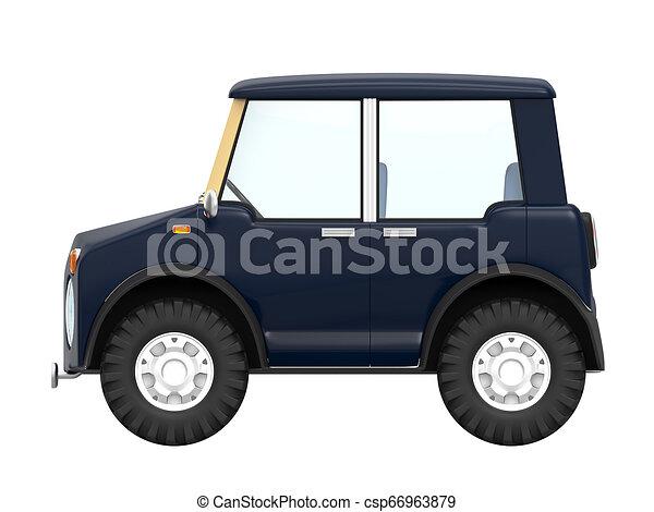 SUV small modern side - csp66963879