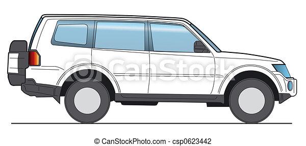 SUV Vector - csp0623442