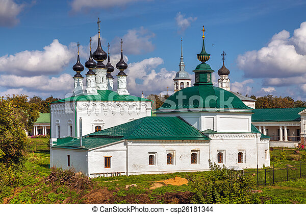 Suzdal. Friday Church and Entry into Jerusalem church - csp26181344