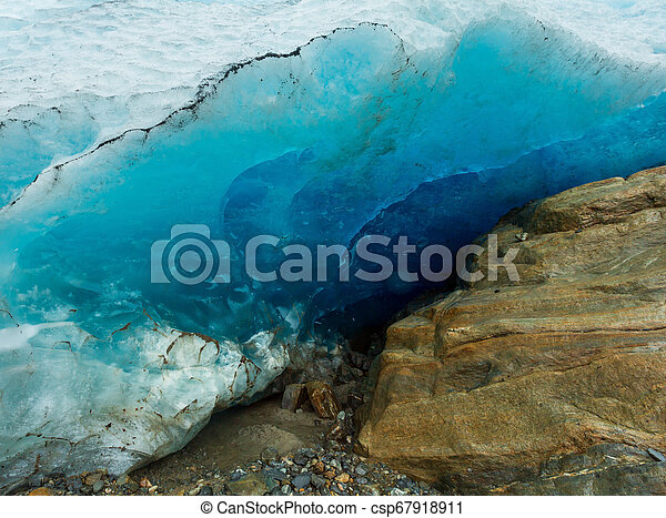 Svartisen Glacier, Norway - csp67918911