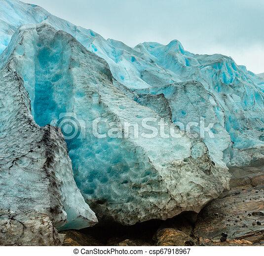 Svartisen Glacier, Norway - csp67918967