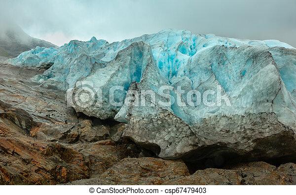 Svartisen Glacier, Norway - csp67479403
