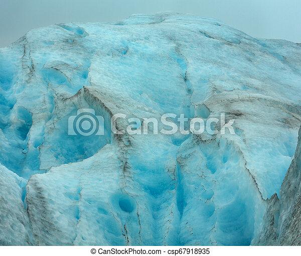 Svartisen Glacier, Norway - csp67918935