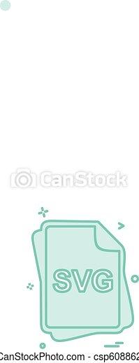 svg, vector, ontwerp, bestand, type, pictogram - csp60886271