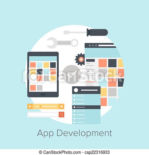 sviluppo, domanda - csp22316933