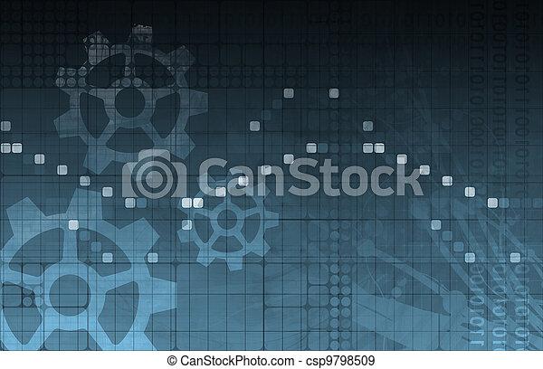 sviluppo, ricerca - csp9798509
