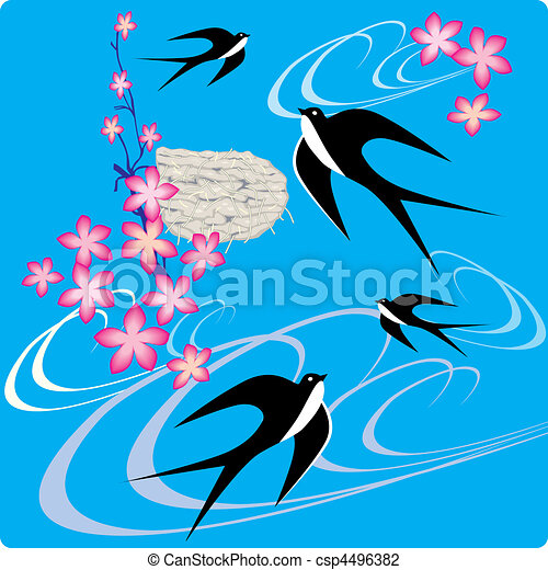 swallows. - csp4496382