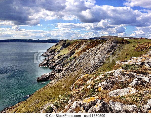 Swansea beach - csp11670599