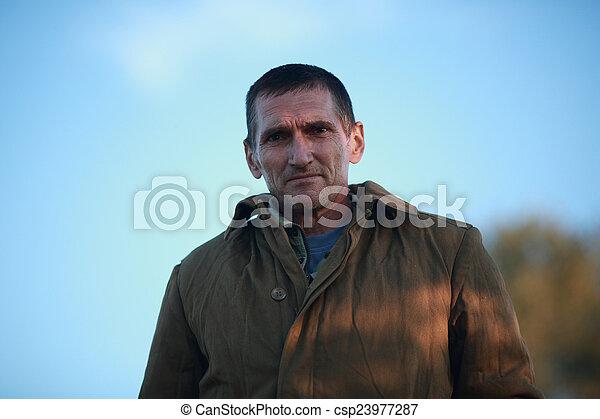 sweatshirt, mann - csp23977287