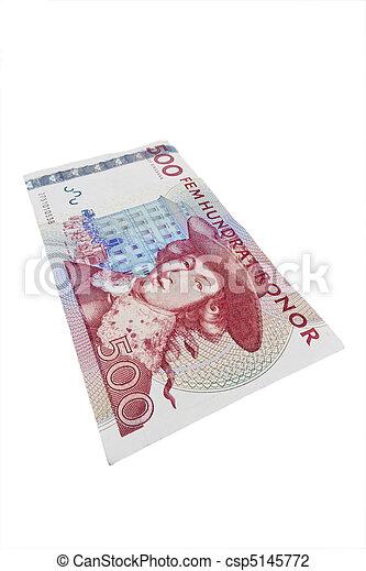 Swedish crowns. Swedish currency - csp5145772