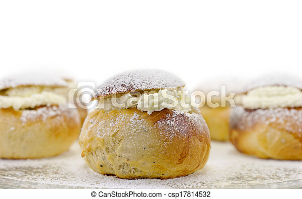 Swedish easter bun - csp17814532