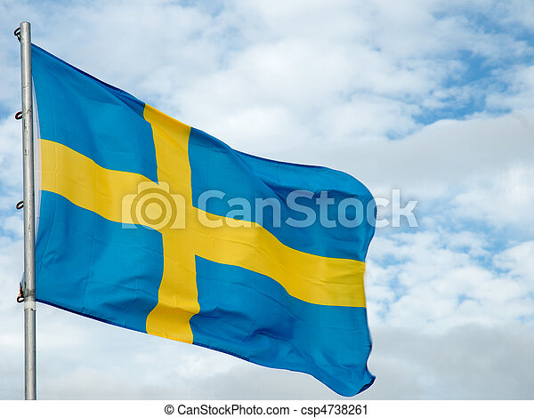 Swedish Flag - csp4738261