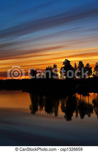 Swedish Lappland - csp1326659