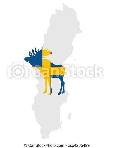 Swedish moose - csp4285499