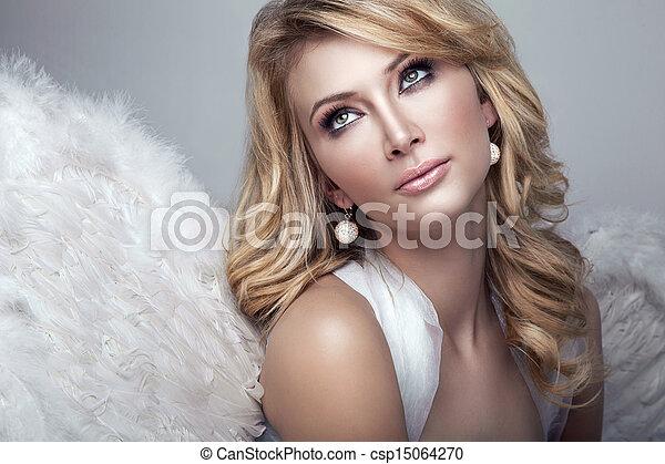 Sweet Blonde Angel Csp15064270