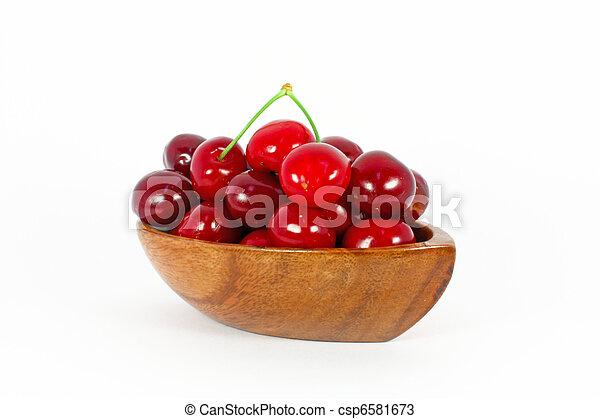 Sweet cherries - csp6581673