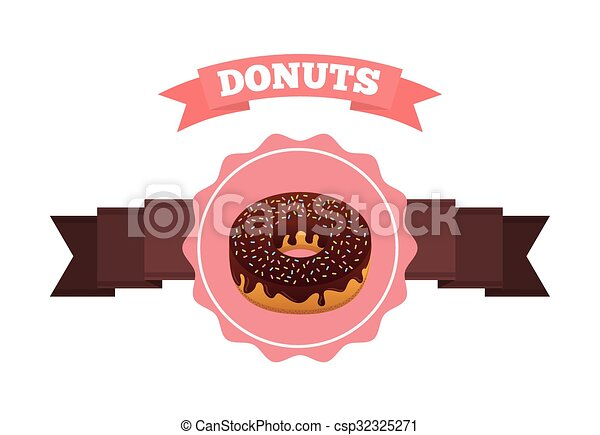 sweet donuts design - csp32325271