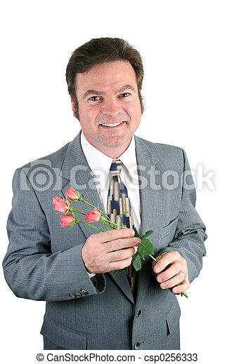 Sweet Husband & Sweetheart Roses - csp0256333