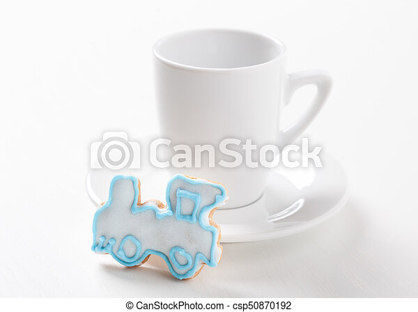 Sweet Surprise With Coffee Break Time Symbol Coffee Concept