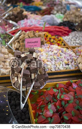 Sweets at Market - csp70870438