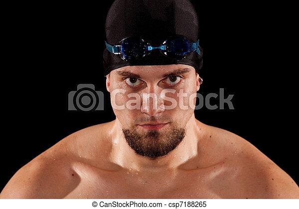 Swimmer - csp7188265