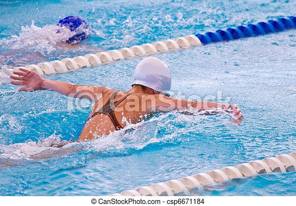 swimmer - csp6671184