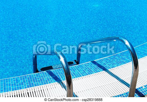 Swimming Pool ladder - csp28319888