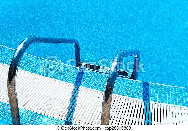 Swimming Pool ladder - csp28319868