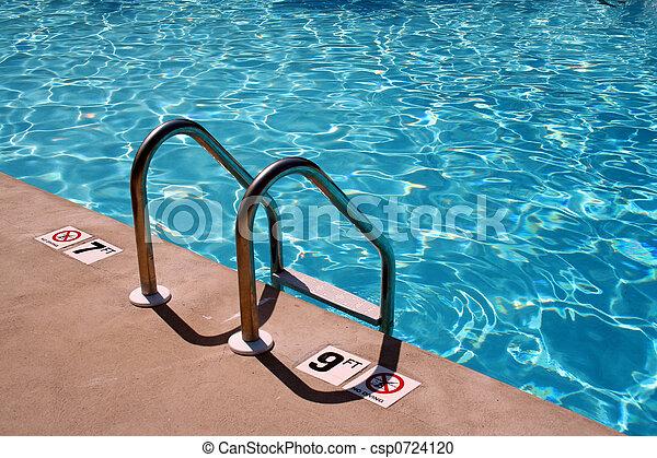 Swimming pool Ladder - csp0724120