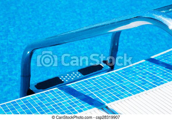 Swimming Pool ladder - csp28319907