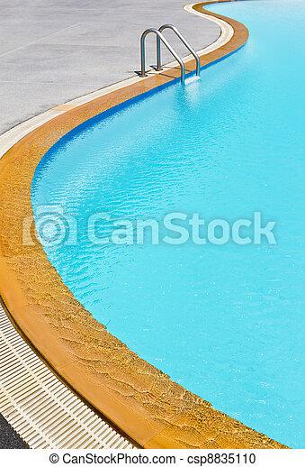 swimming pool ladder - csp8835110