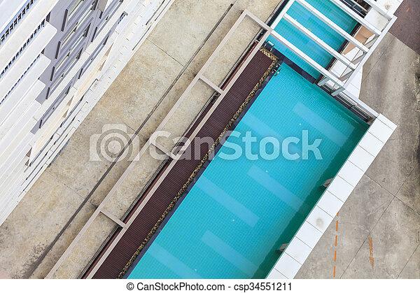 Swimming pool - csp34551211