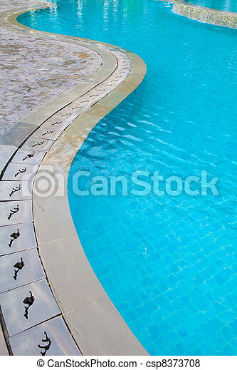 Swimming pool - csp8373708