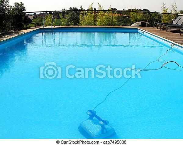 Swimming pool robot