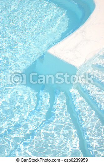 Swimming Pool Steps - csp0239959