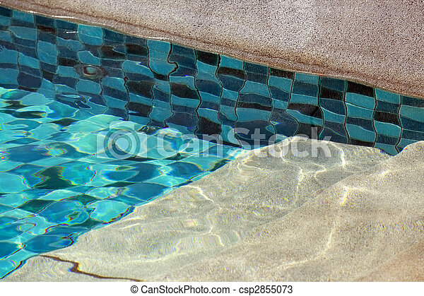Swimming pool - csp2855073